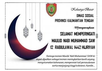 Selamat Memperingati Maulid Nabi Muhammad SAW 12 Rabiulawal 1442 Hijriyah